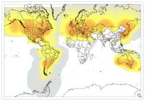 carte de couverture Globalstar