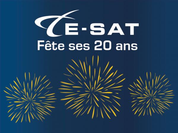 communication par satellite E-SAT
